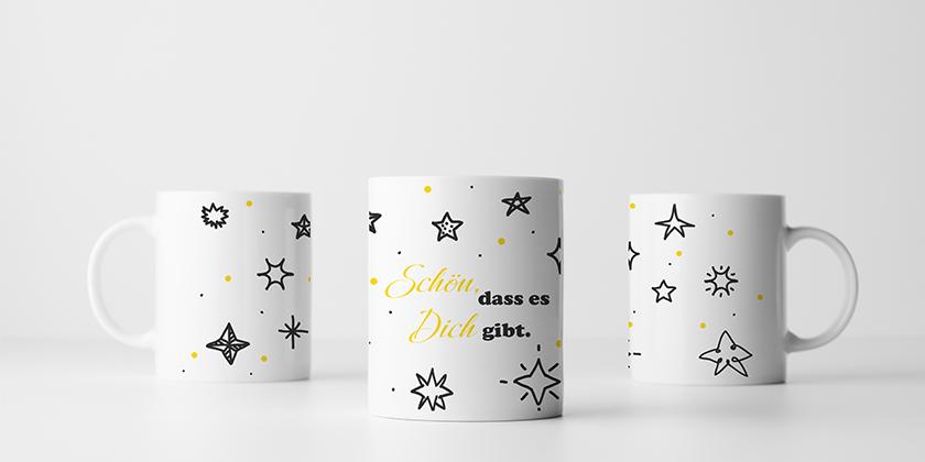 Personalisierte Tasse Weihnachtsgeschenk